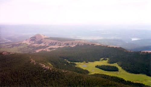 Elk Meadows and Ash Mountain...