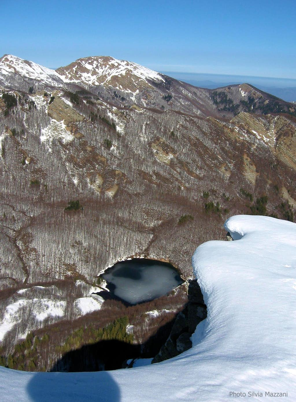 Pradaccio Lake defrosting