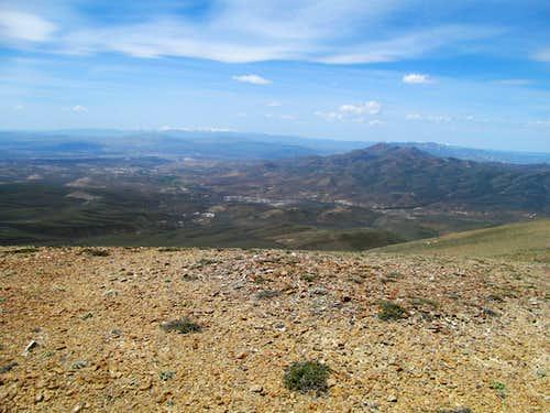 Jarbidge Range from Knoll