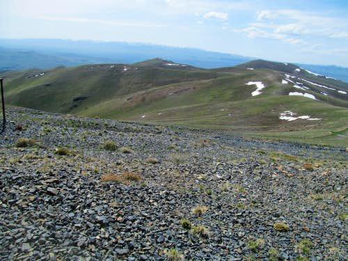 Jarbidge Range from Ellen D