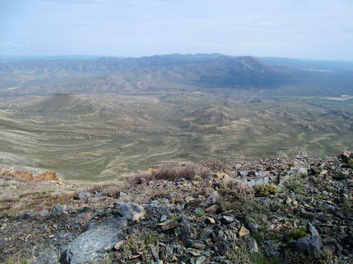 waves of granite below Ellen D
