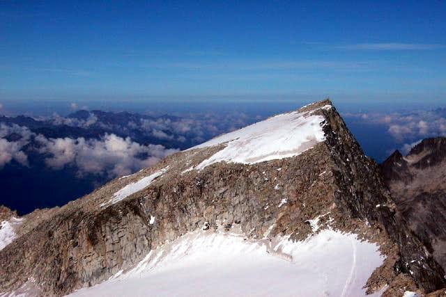 The pyramid of Monte Adamello