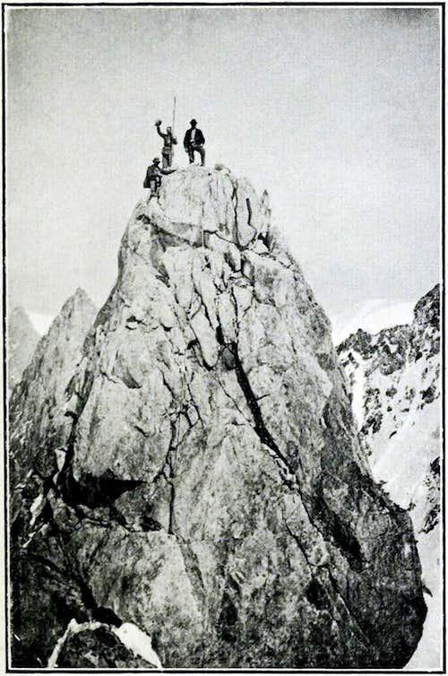 Dent du massif du Mt Blanc