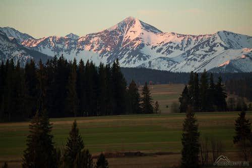 Mt.Starorobocianski Wierch