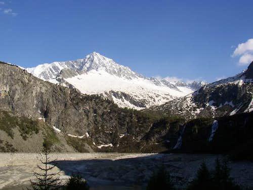 Monte Adamello from Avio...