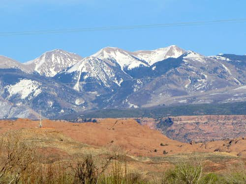 West face of Pilot Mountain