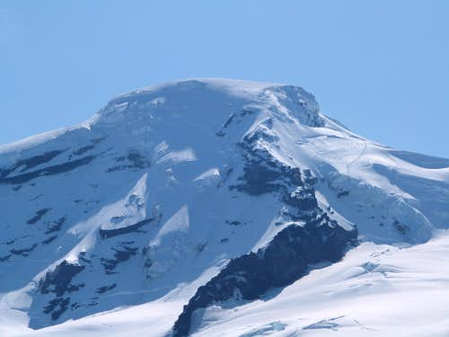 Mount Baker from the Coleman glacier