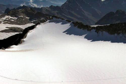 Corno Bianco route. 2002