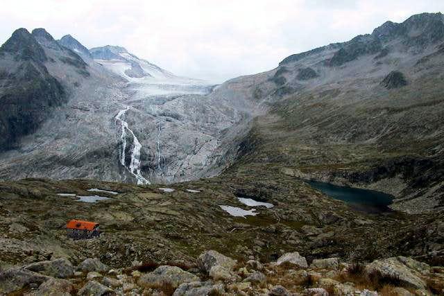 Adamello glacier (Mandrone)...