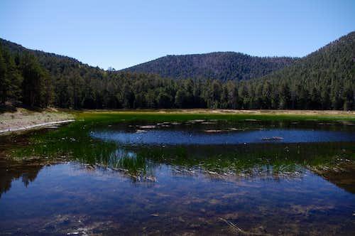 Lake Peak From Dry Lake