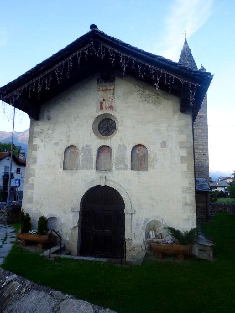One-week trip around Churches Tzévrot Eglise 2015