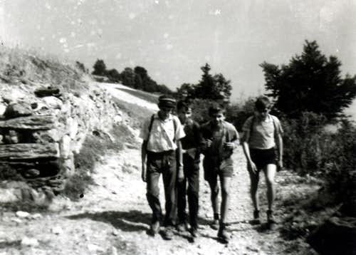 Eastern Walk directly by Aosta to Becca of Viou 1965