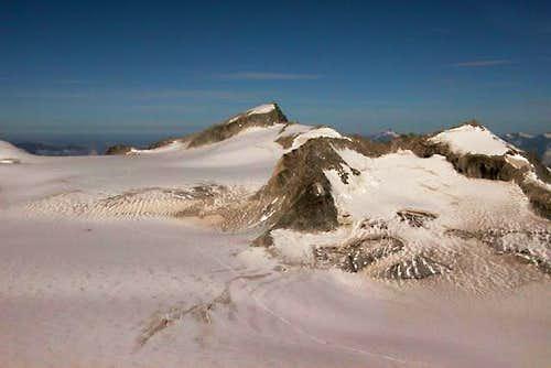 Monte Adamello and Pian di Neve