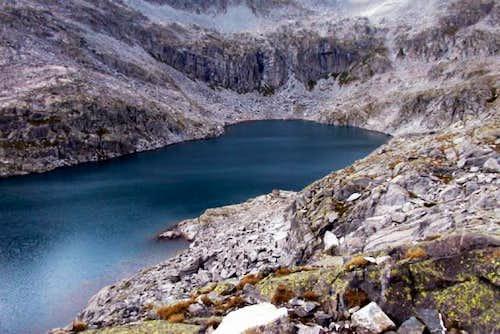 The lake Lungo near Rifugio...