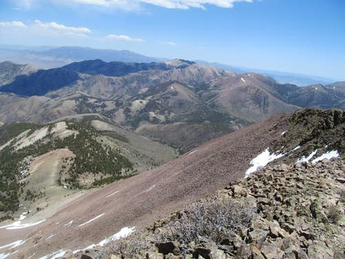 Toiyabe Dome from Arc
