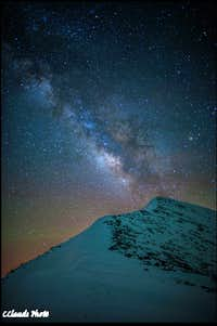 Mt Agassiz Milky Way