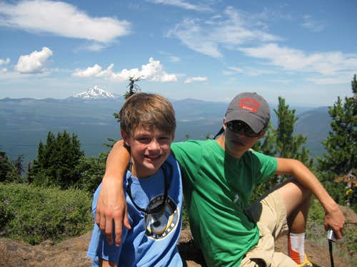 Summit of Black Butte with the bro