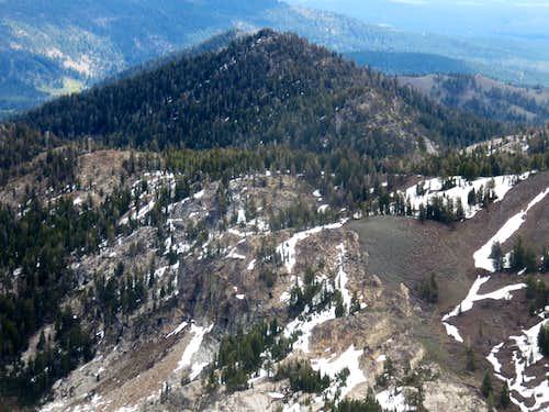 Frog Lake Peak from Castle Peak