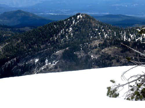 Frog Lake Peak from Basin Peak