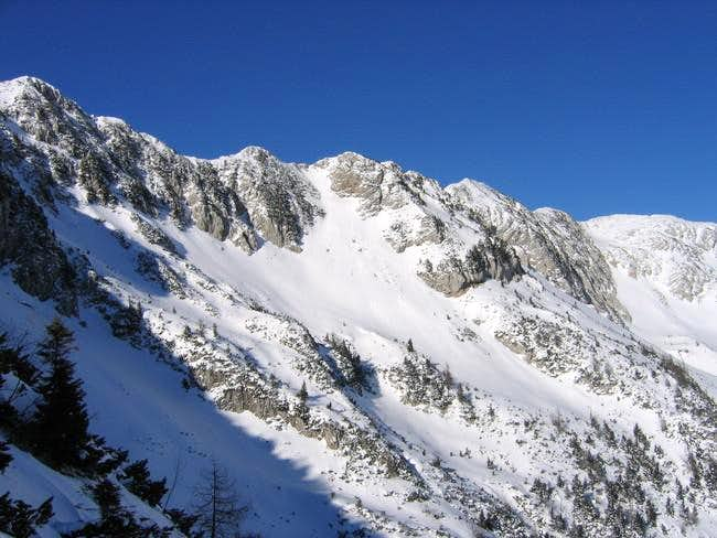 From Krvavec skiing area