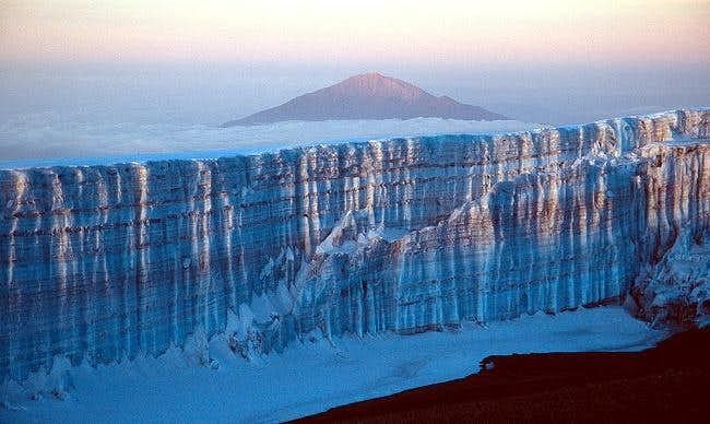 Mount Meru and Kili's Southern Icefield