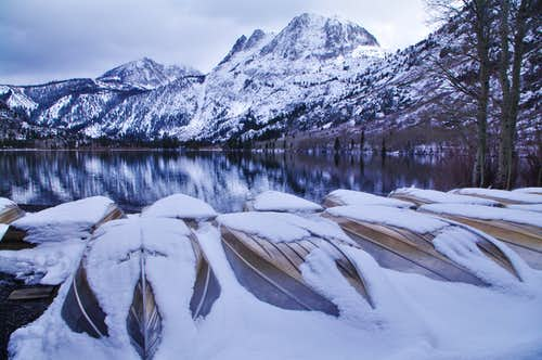 Carson Peak above Silver Lake
