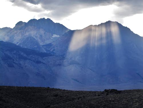 Split Mountain and Tinemaha
