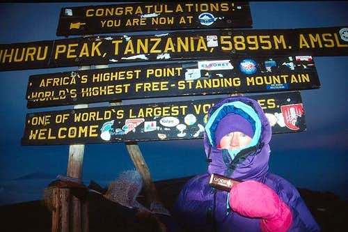 Mama Tembo Climbs Kilimanjaro