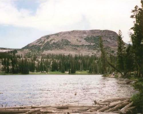 Lofty Peak from Ruth Lake....