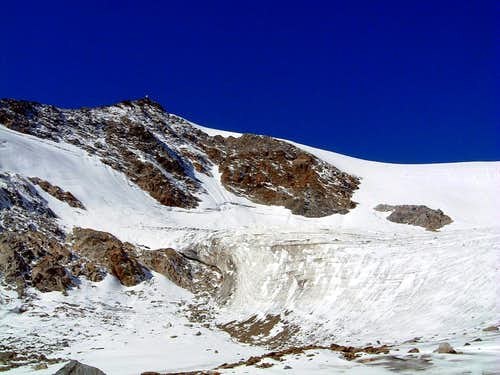 Cima delle Anime or  Hinterer Seelenkogel 3472 m