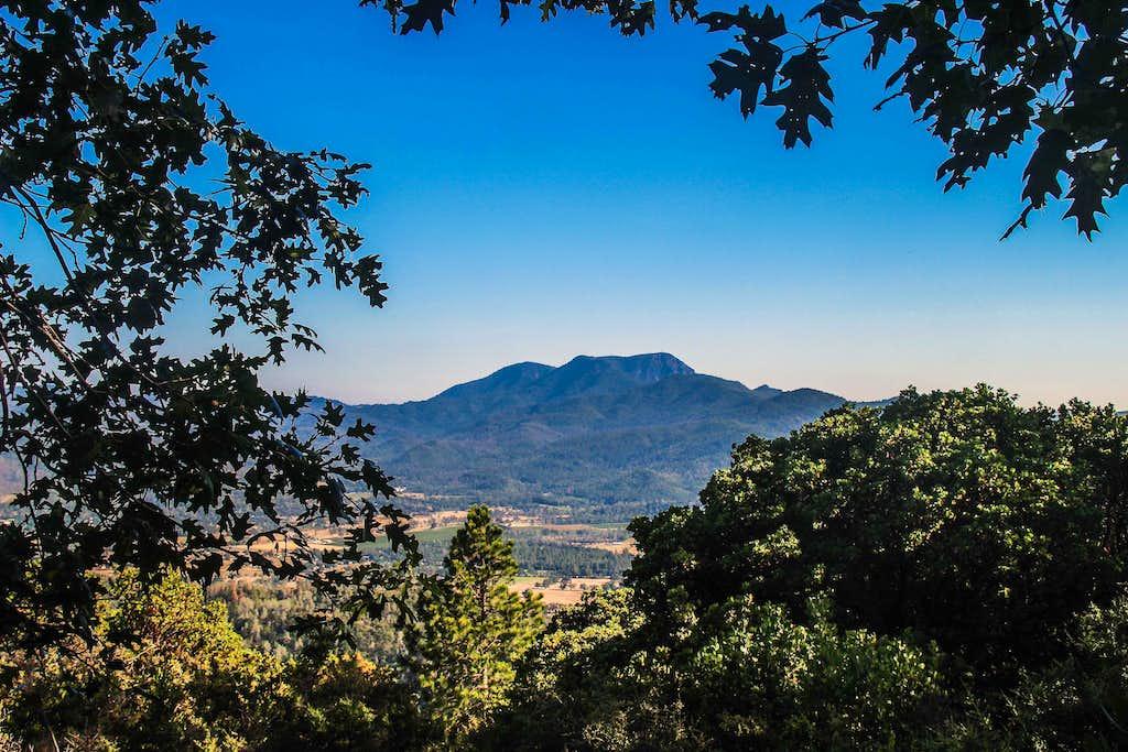 Mt. St. Helena from Harbin Mtn.