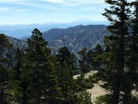 Baldy Notch and San Bernardino Mountains