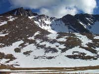 Mt. Evans north face seen...