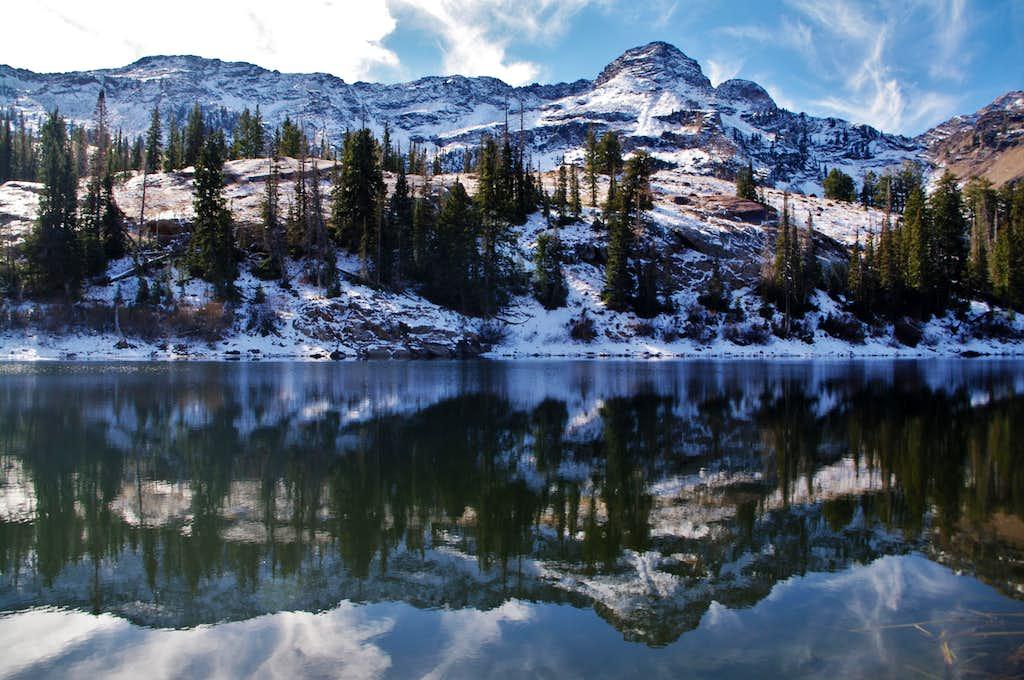 Dromedary Above Lake Blanche
