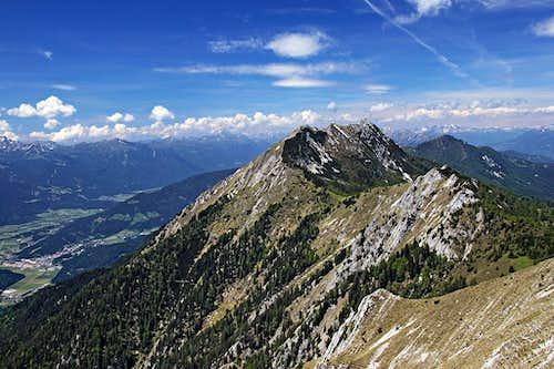 From Graslitzen towards the west