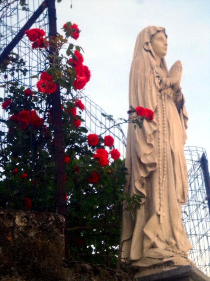 Week ... Leodegardo (Aymavilles) Virgin Statue 2015