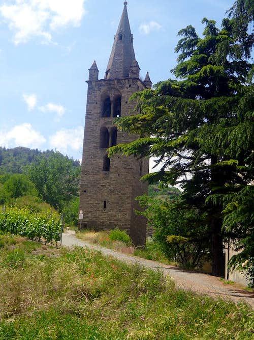 One trip ... Saint Léger (Aymavilles)  Bell Tower 2015