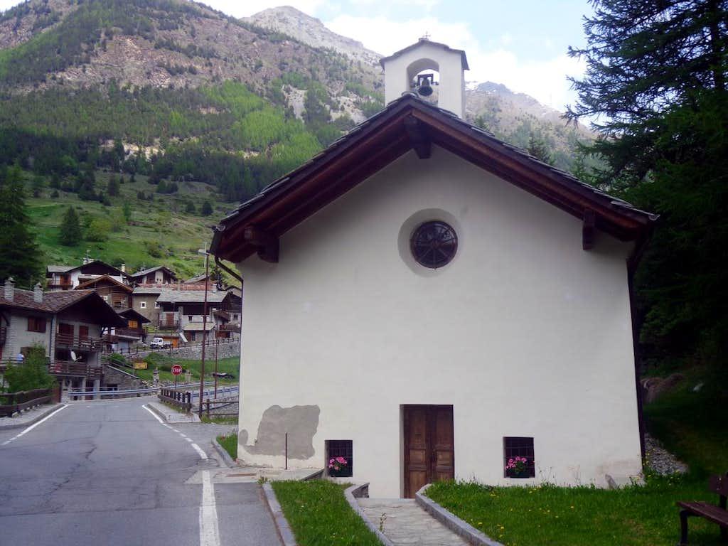 One-week trip / B St. Antoine (Cogne) old Church 2015