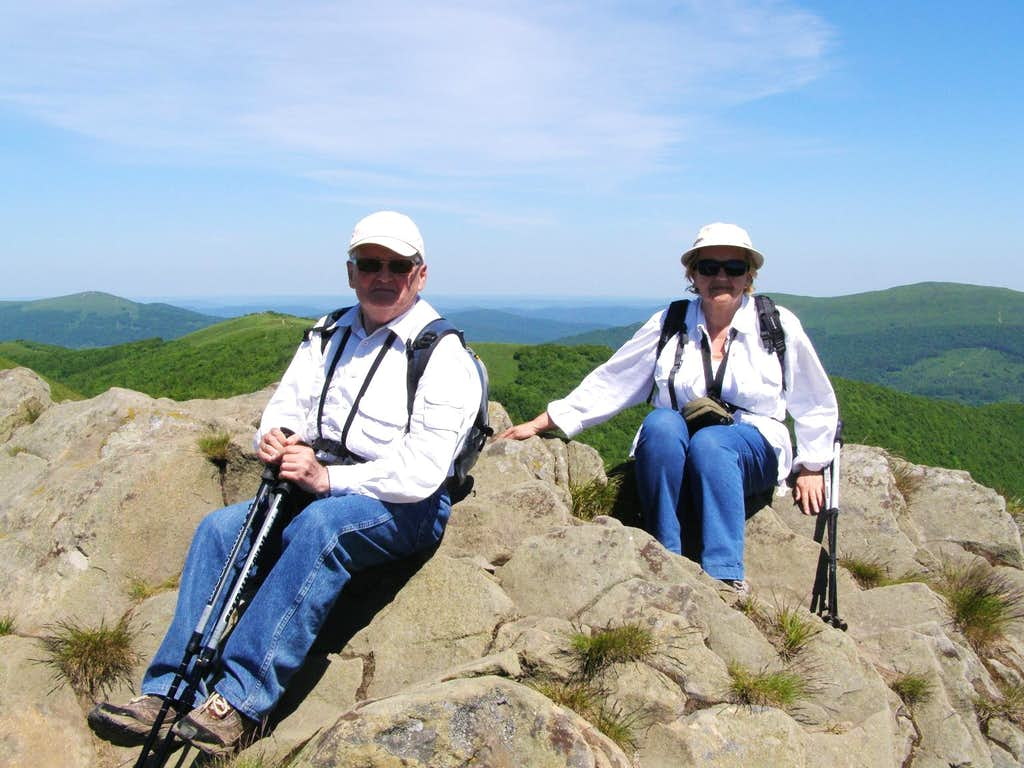 Small and Big Rawka - Our hike – June 6, 2015