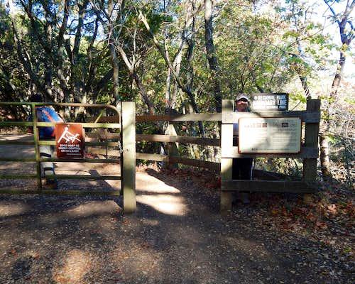 Morgan Territory Gate