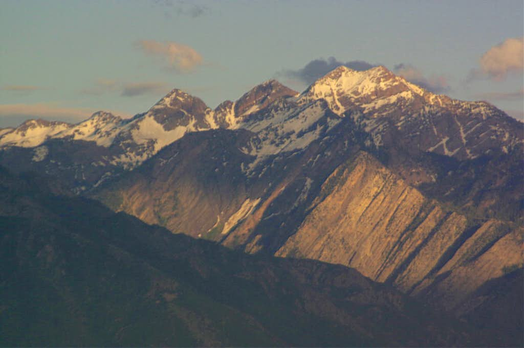 Dromedary, Sunrise, and Broads Fork Twin Peaks