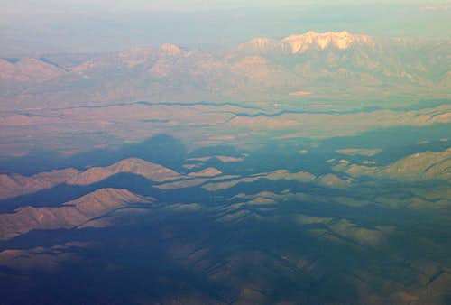 Mt. Nebo from the air