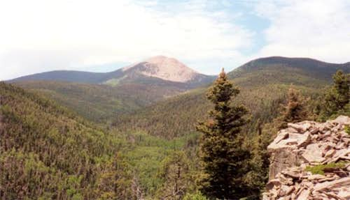 Baldy Mountain, as seen from...
