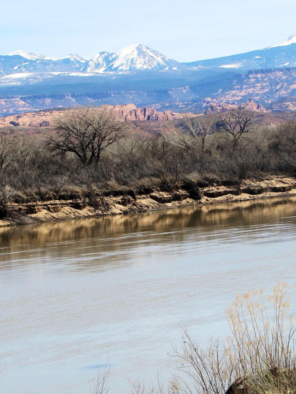 Haystack Mountain & Colorado River