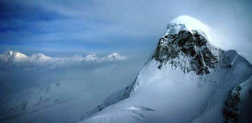 Breithorn seen from the Klein...
