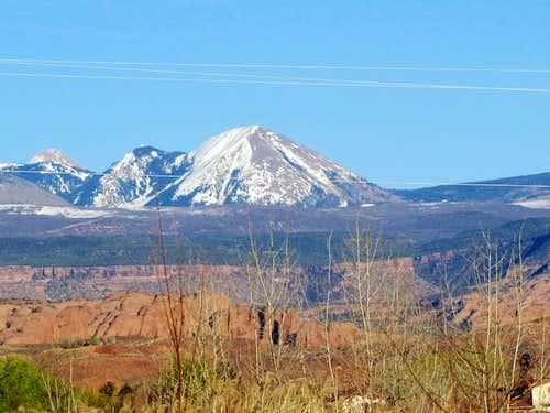 Haystack Mountain, northwest face