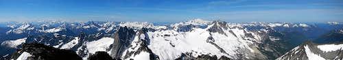 Spickard Summit Panorama