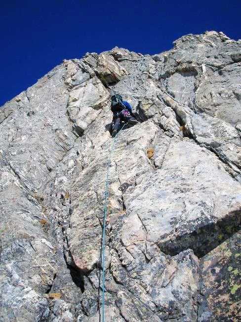 Climbing dry rock in March!...