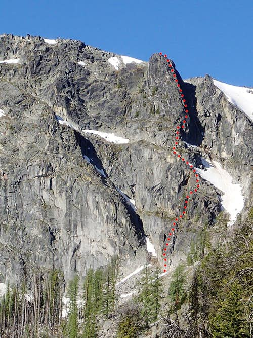 North Tower Ridge