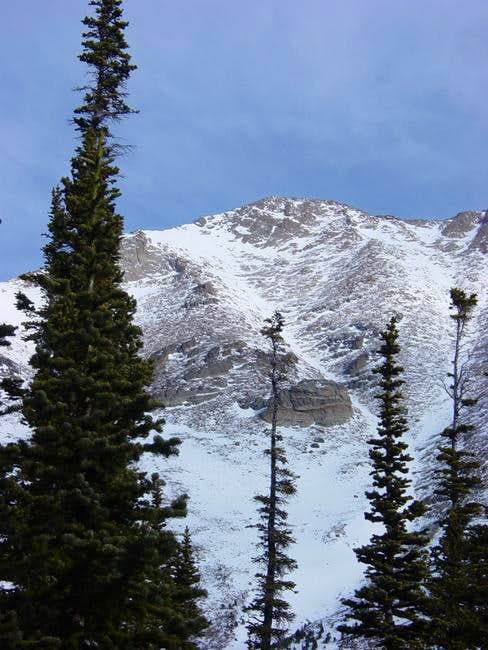 Dragontail Couloir from...